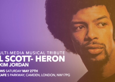 Kim Jordan – Tribute to Gil Scott-Heron